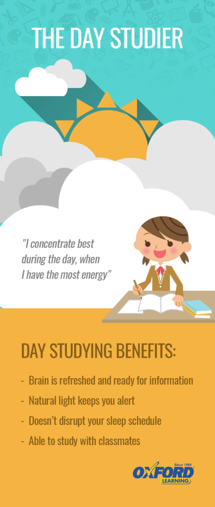 The Day Studier Benefits